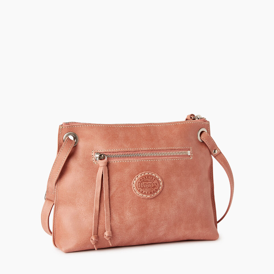 Roots-Leather  Handcrafted By Us Categories-Edie Bag-Canyon Rose-C