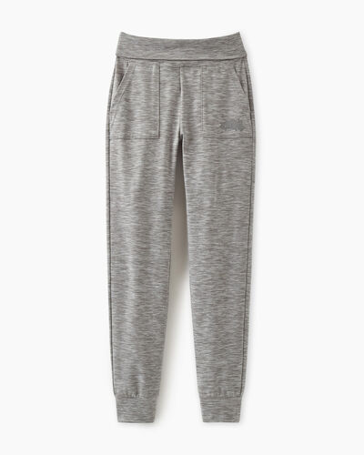 Roots-Sweats Girls-Girls Lola Slim Jogger-Grey Mix-A