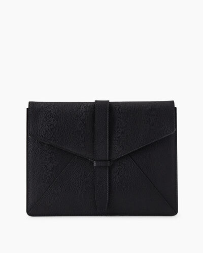 Roots-Leather Tech & Travel-Document Sleeve Cervino-Black-A