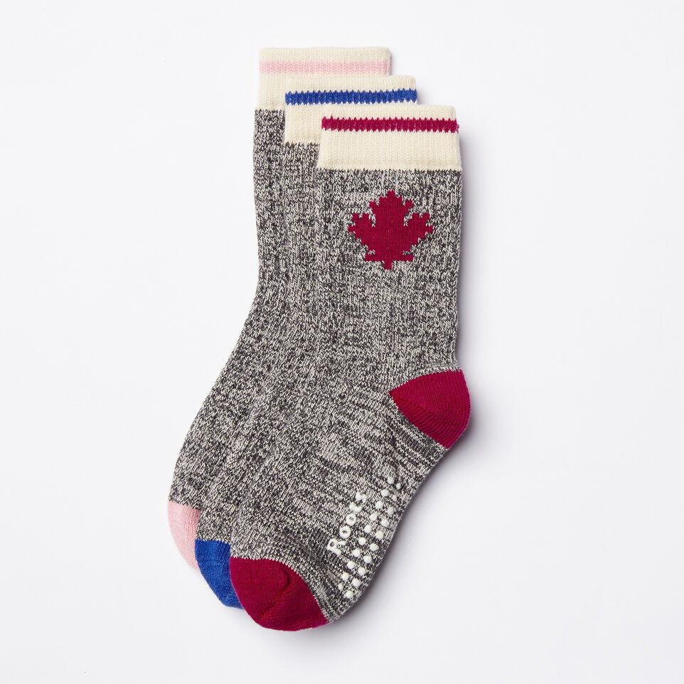 Roots-Toddler Maple Sock 3 Pack