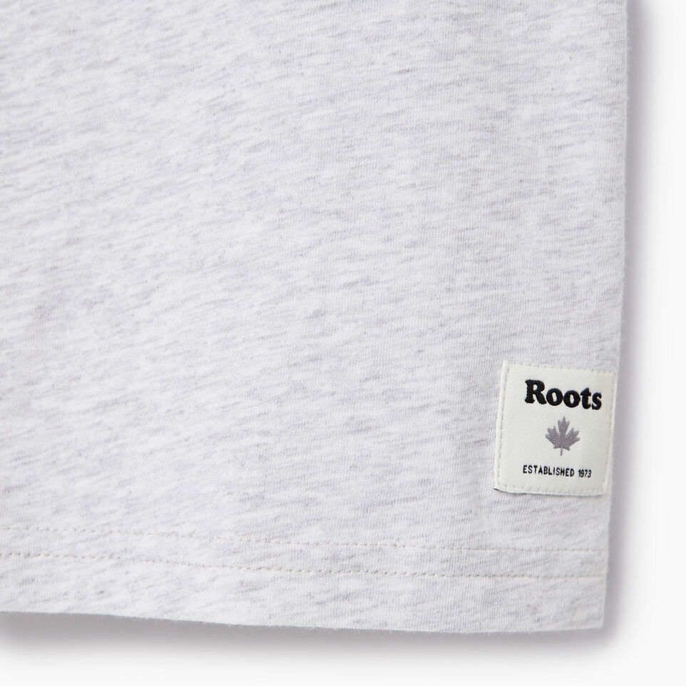 Roots-New For May Kids-Boys Gradient Cooper T-shirt-White Mix-C