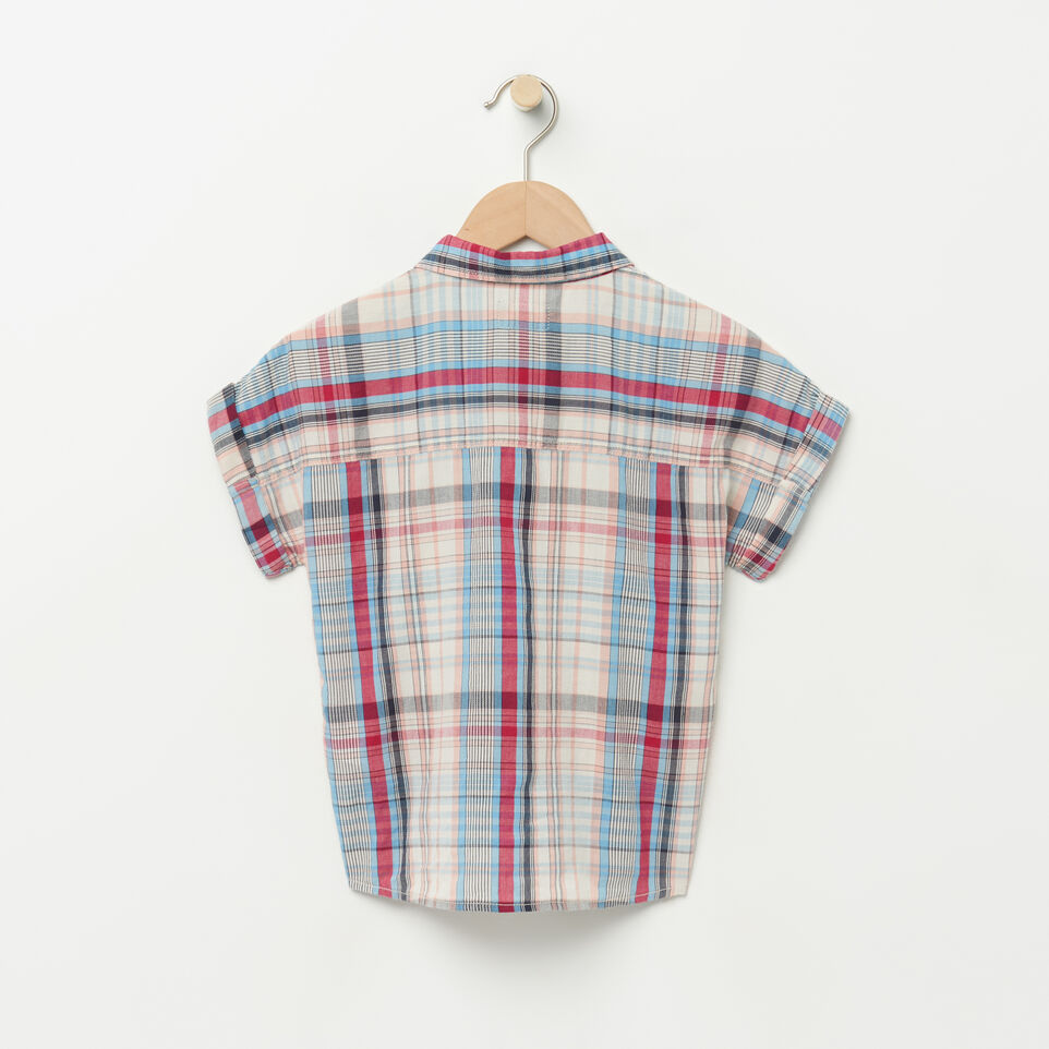 Roots-undefined-Girls Tie Shirt-undefined-B