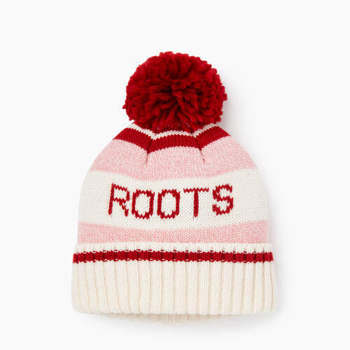 Roots-Kids Accessories-Kids Cabin Toque-Sea Pink Mix-A