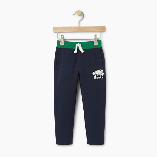 Roots-Clearance Kids-Toddler Colour Block Sweatpant-Navy Blazer-A