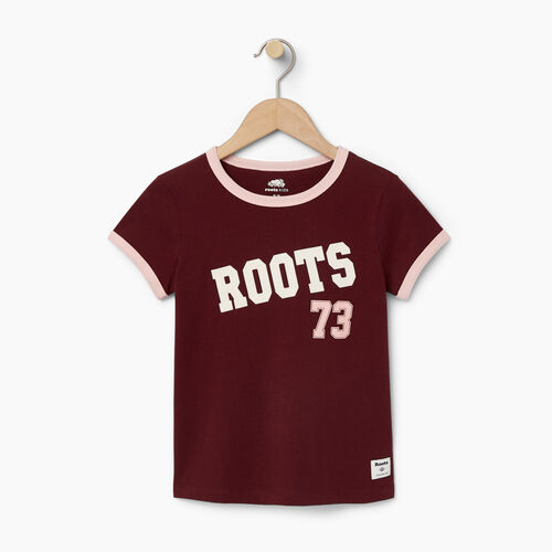 Roots-Kids Our Favourite New Arrivals-Girls Roots 73 Top-Northern Red-A