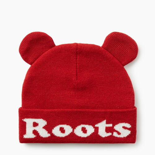 Roots-Kids Accessories-Toddler Cooper Glow Toque-Cabin Red-A