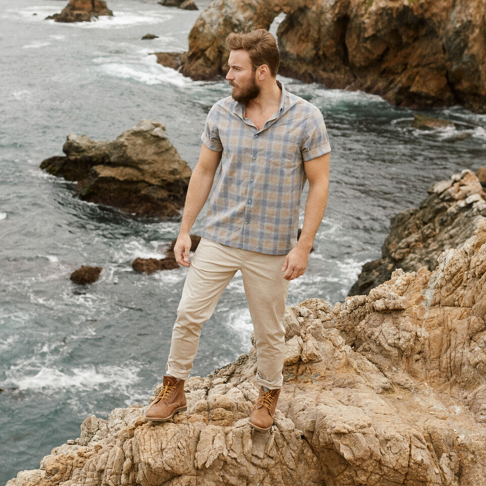 Roots-undefined-Parksville Short Sleeve Shirt-undefined-B
