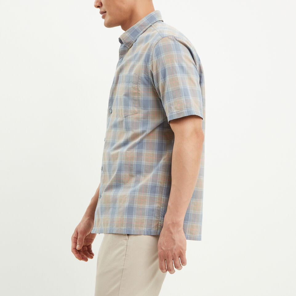 Roots-undefined-Parksville Short Sleeve Shirt-undefined-C