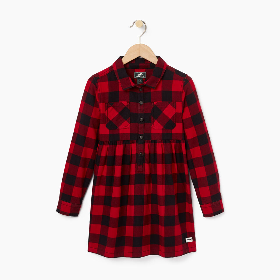Roots-undefined-Girls Park Plaid Dress-undefined-A