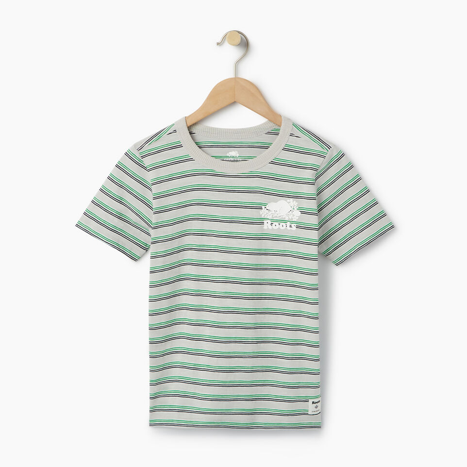 Roots-Kids Our Favourite New Arrivals-Boys Cooper Stripe T-shirt-undefined-A
