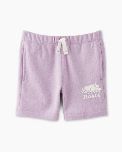 Roots-Sweats Girls-Girls Original Roots Short-Lupine Pepper-A