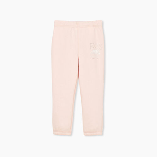 Roots-Sweats Toddler Girls-Toddler RBA Sweatpant-Crystal Pink-A