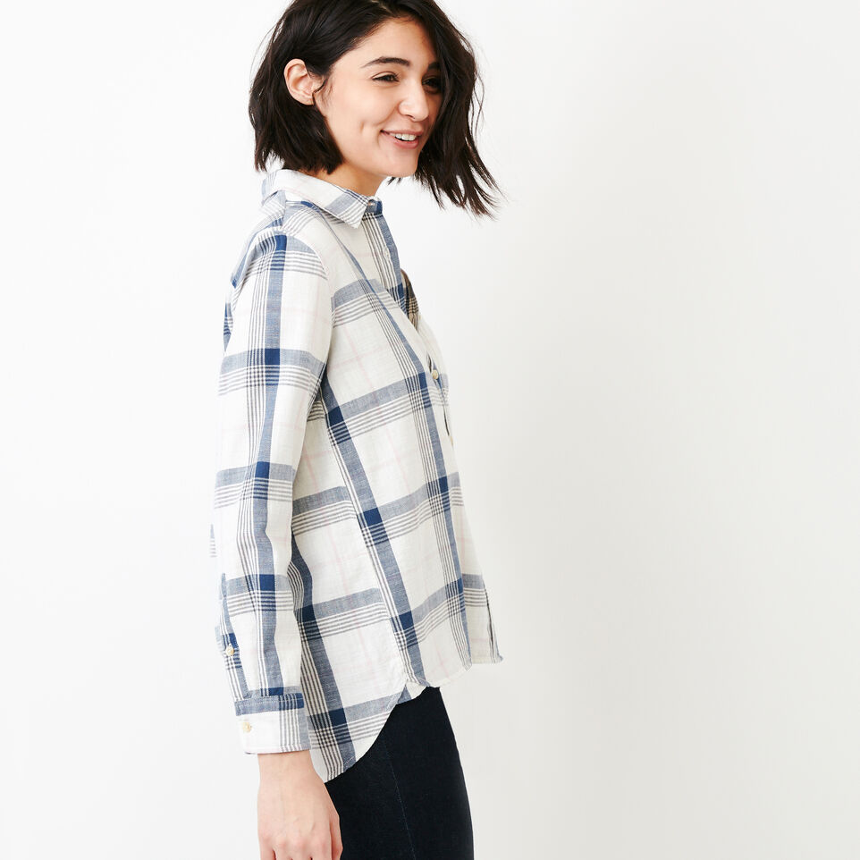 Roots-Women Our Favourite New Arrivals-All Seasons Relaxed Shirt-Wind Chime-C