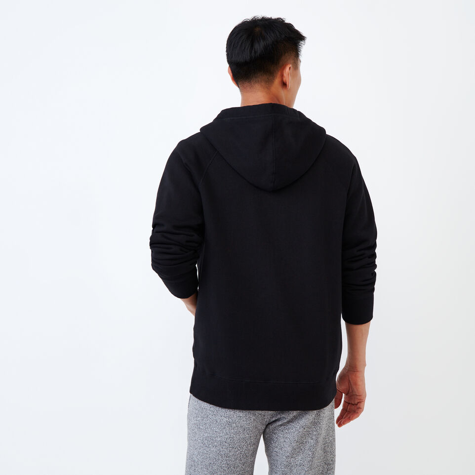 Roots-Men Our Favourite New Arrivals-Stamps Zip Hoody-Black-D