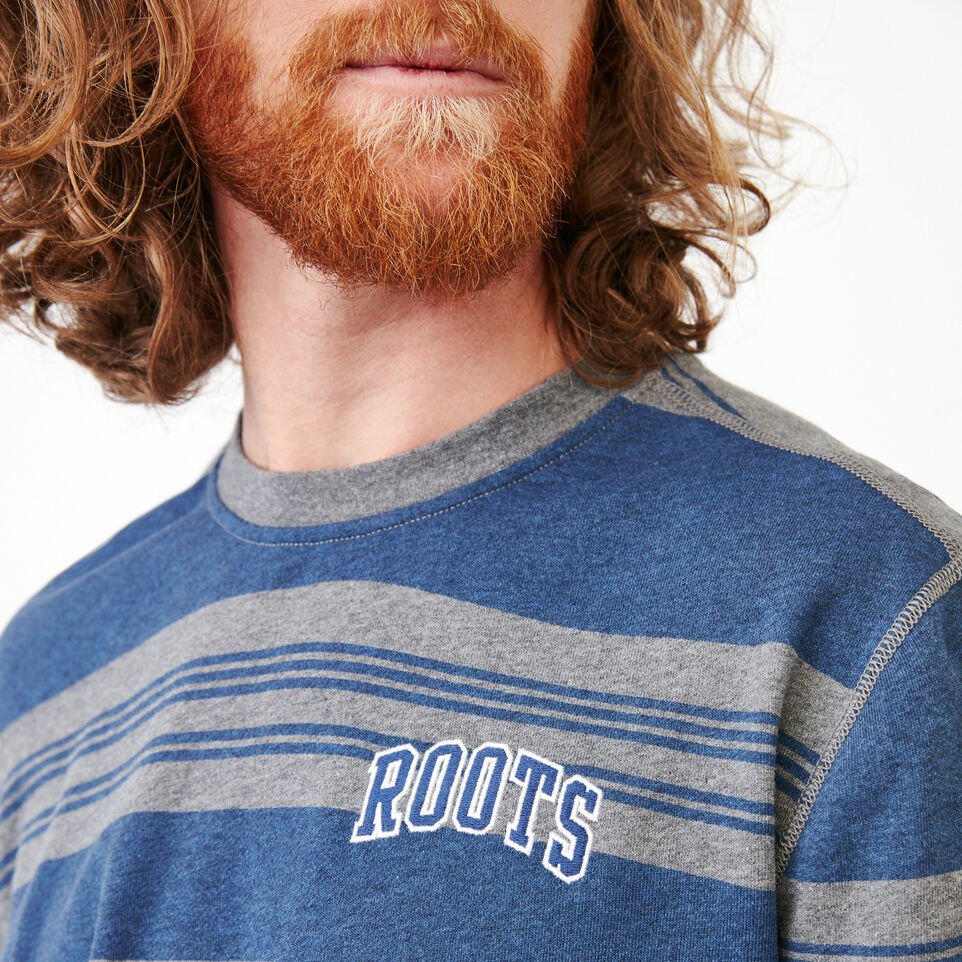 Roots-undefined-Rugby Stripe Crew Sweatshirt-undefined-E
