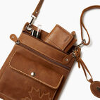 Roots-Gift Guide Canada Collection By Roots™-Trans Canada Urban Pouch-Natural-D
