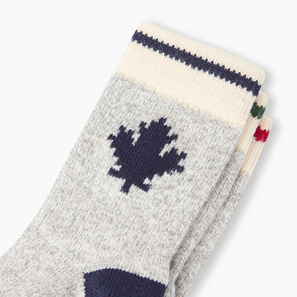 Roots-Kids Our Favourite New Arrivals-Toddler Maple Sock 3 Pack-Grey Mix-D