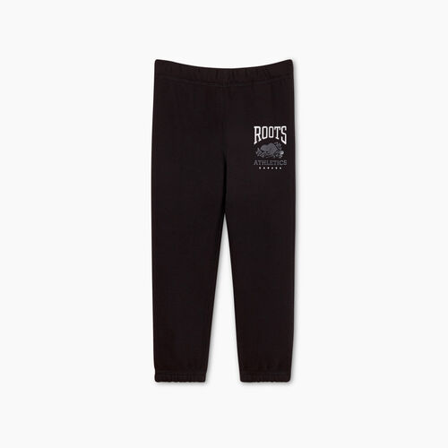 Roots-Kids Bottoms-Toddler RBA Sweatpant-Black-A