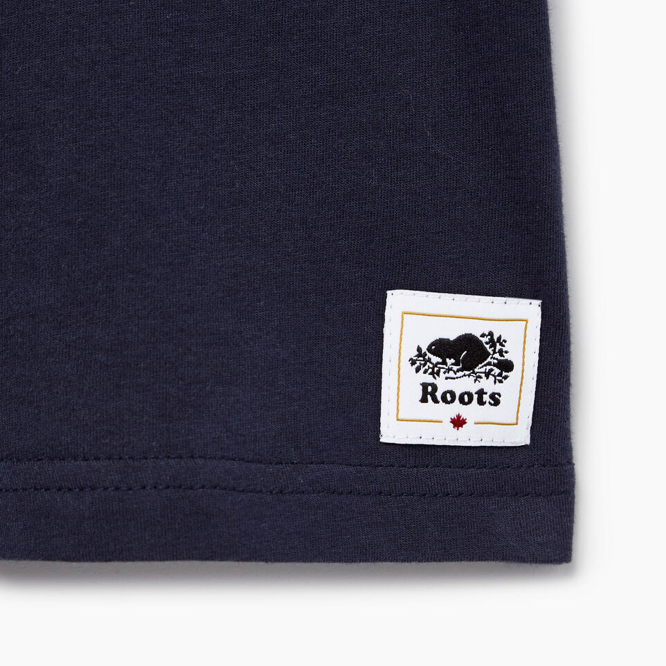 Roots-Kids Our Favourite New Arrivals-Baby Cooper Canada Ringer T-shirt-Navy Blazer-C