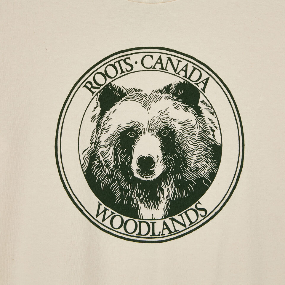 Roots-undefined-Mens Cooper Bear T-shirt-undefined-D