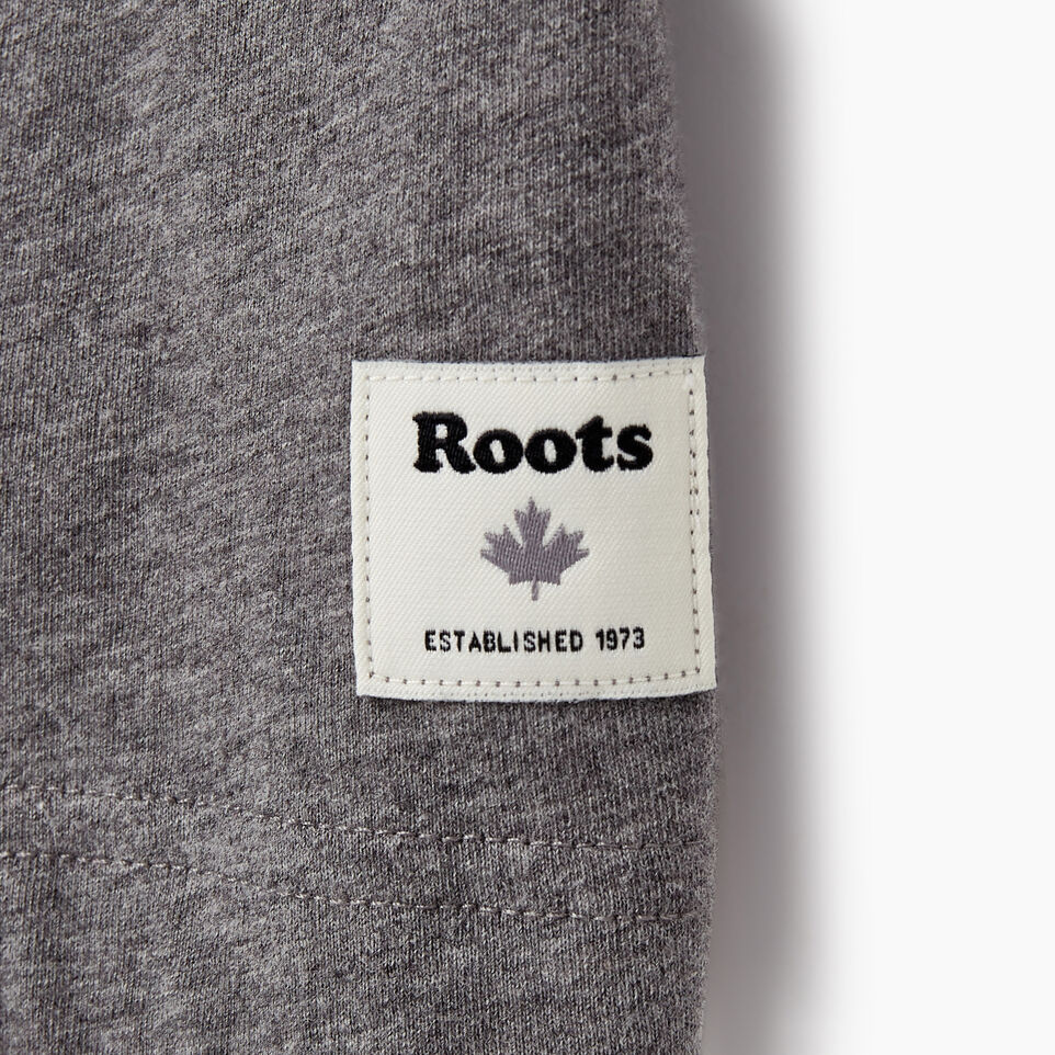 Roots-New For July Men-Mens Springdale T-shirt-Med Grey Mix-C