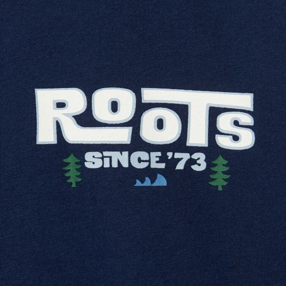 Roots-undefined-T-shirt Pacific Scenery pour hommes-undefined-D