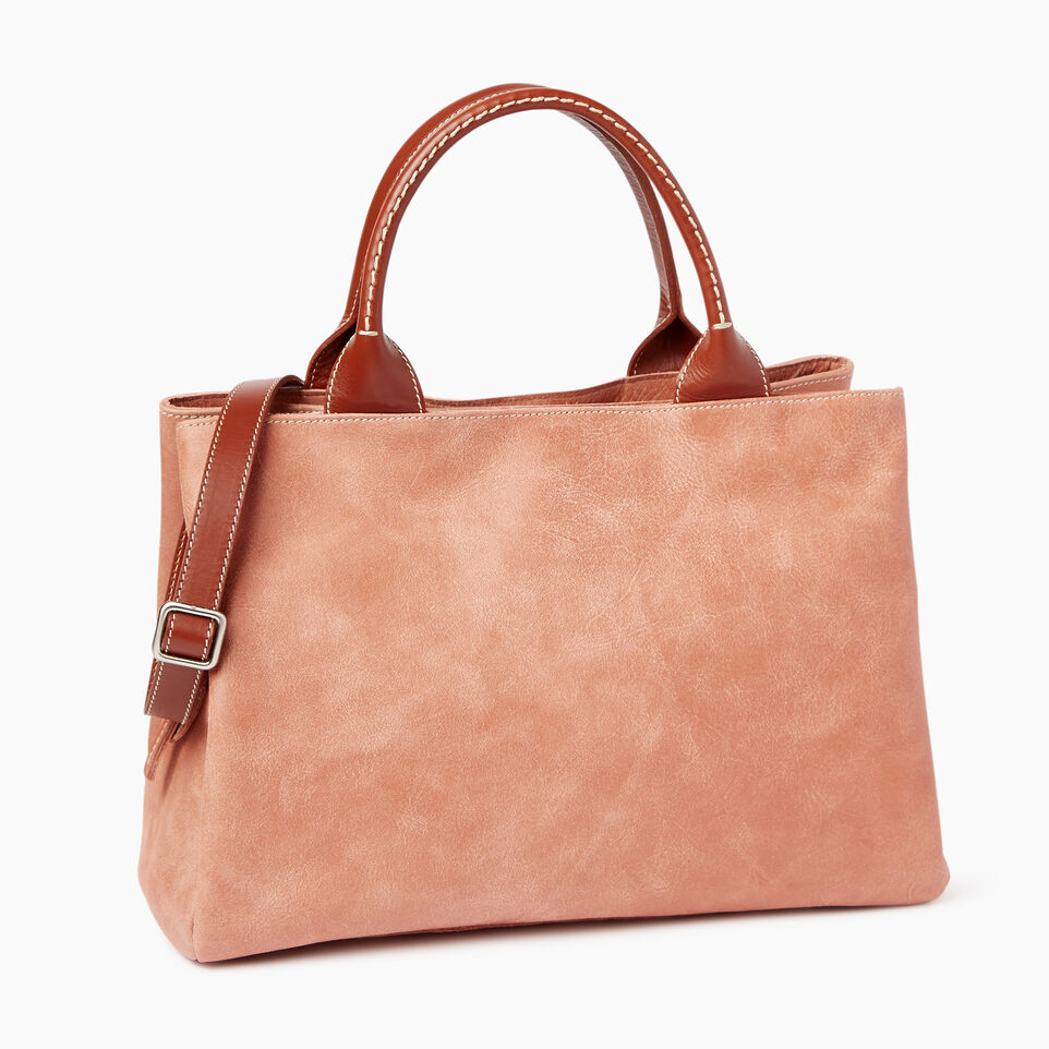 Roots-Leather Our Favourite New Arrivals-Mont Royal Bag-Canyon Rose/oak-C