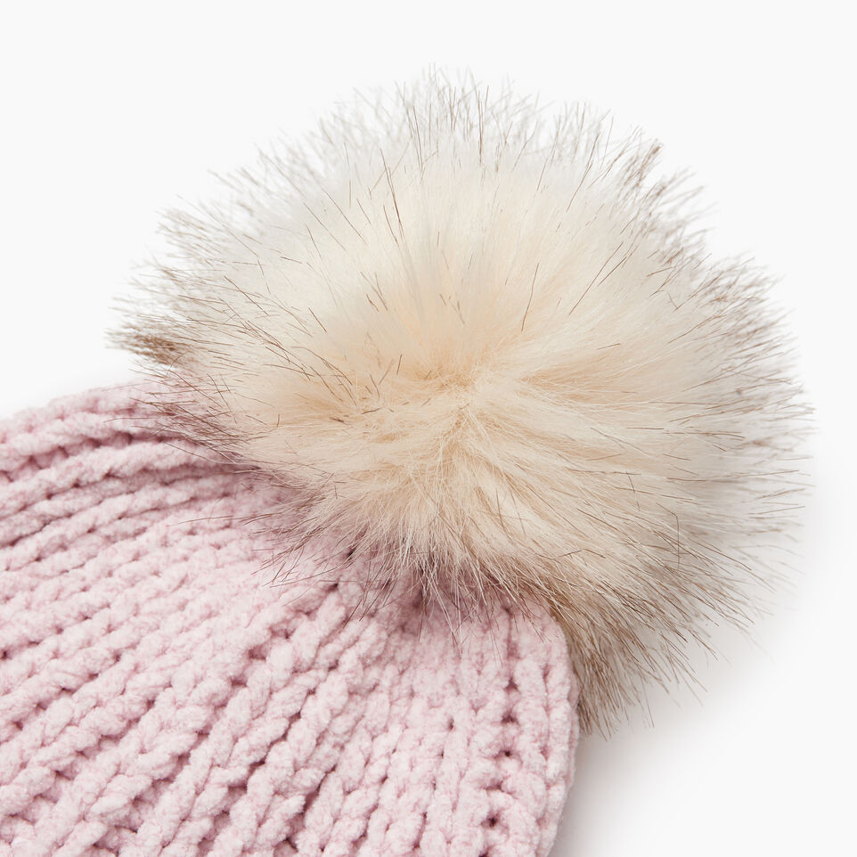 Roots-Kids Our Favourite New Arrivals-Kid Girl Chenille Toque-Fragrant Lilac Ppr-E