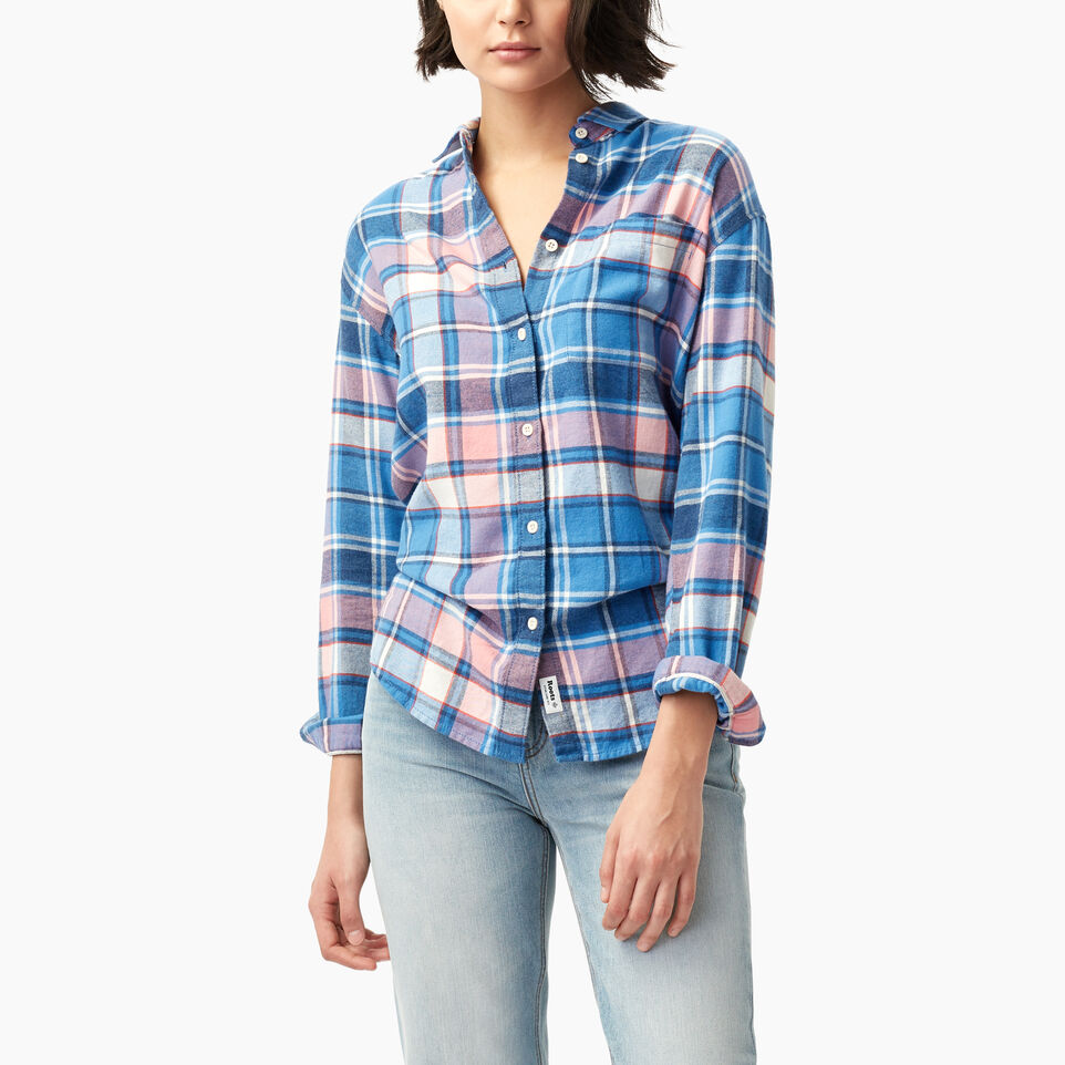 Roots-undefined-Alaina Boyfriend Shirt-undefined-A