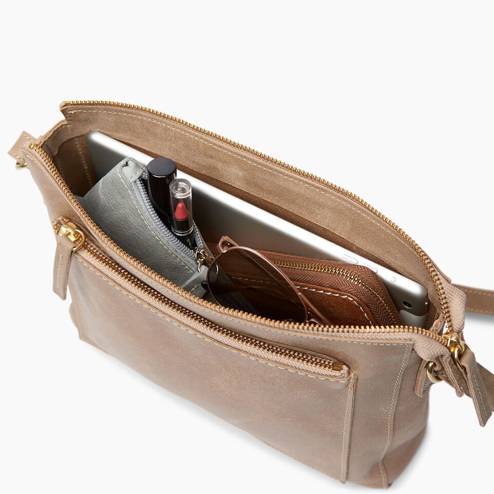 Roots-Leather Handbags-Robson Bag-Sand-D