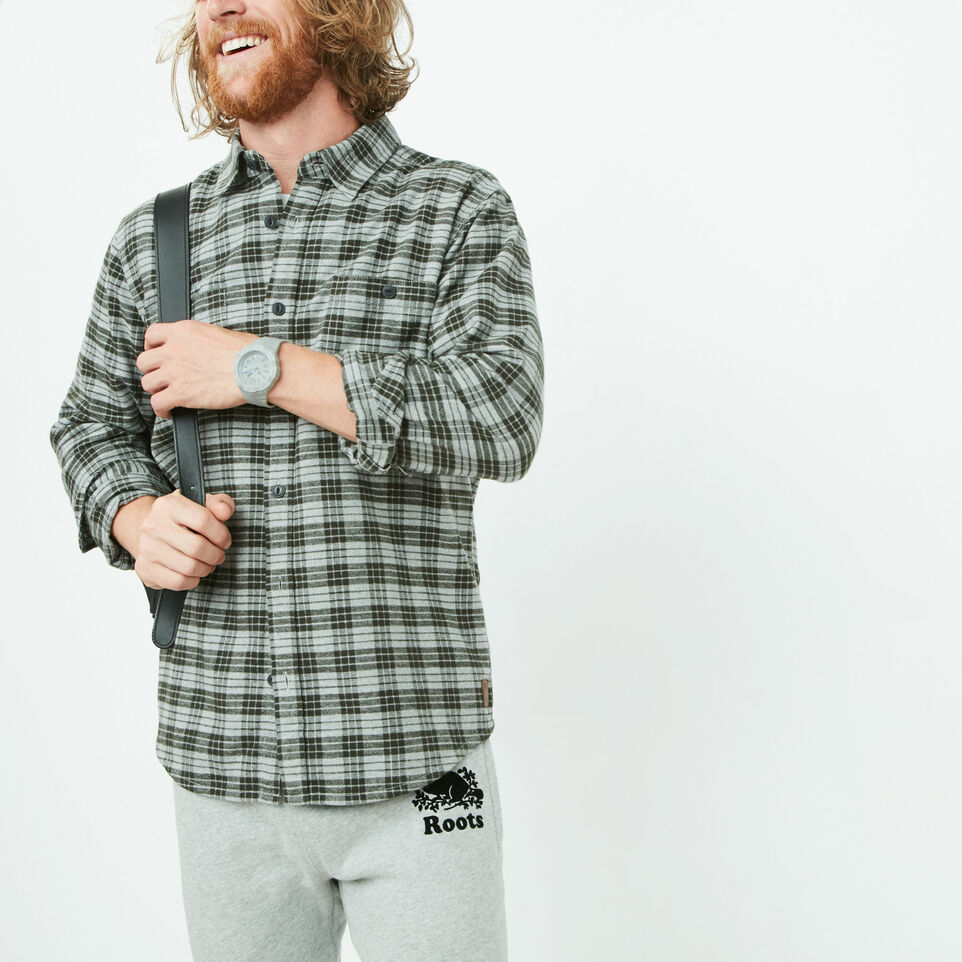 Roots-undefined-Braeburn Flannel Shirt-undefined-A
