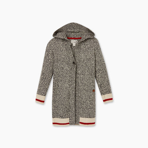 Roots-Kids Girls-Girls Cabin Cardigan-Grey Oat Mix-A