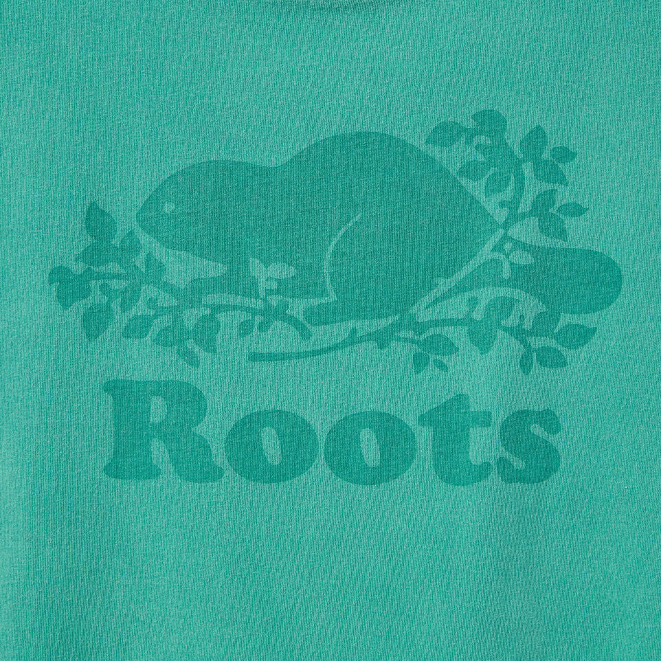 Roots-Women Our Favourite New Arrivals-Womens Sunkissed T-shirt-Sea Green-D