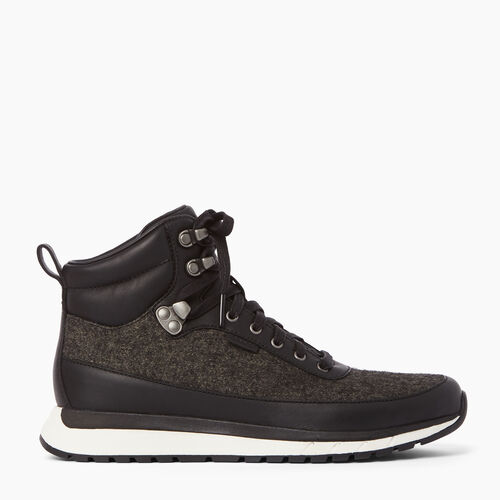 Roots-Clearance Footwear-Mens Rideau Mid Sneaker-Abyss-A