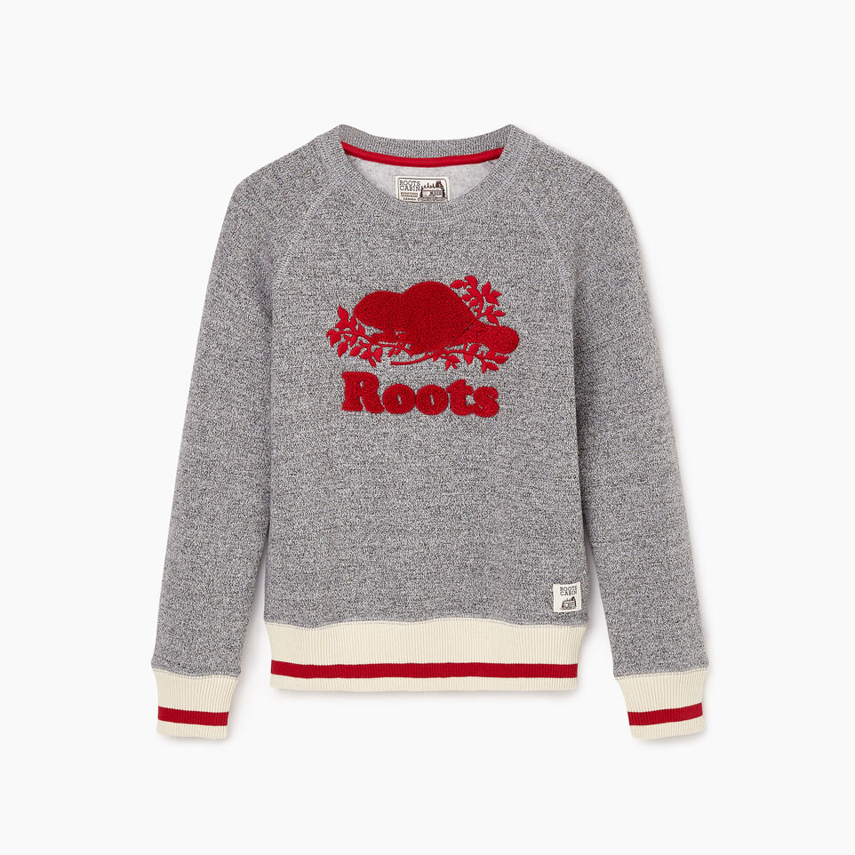 Roots-undefined-Girls Roots Cabin Cozy Sweatshirt-undefined-B