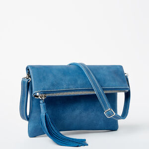 Roots-Leather Tribe Leather-Anna Clutch Tribe-Infinity-A