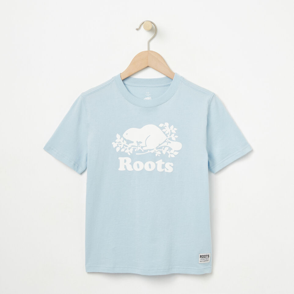 Roots-undefined-Boys Cooper Beaver T-shirt-undefined-A