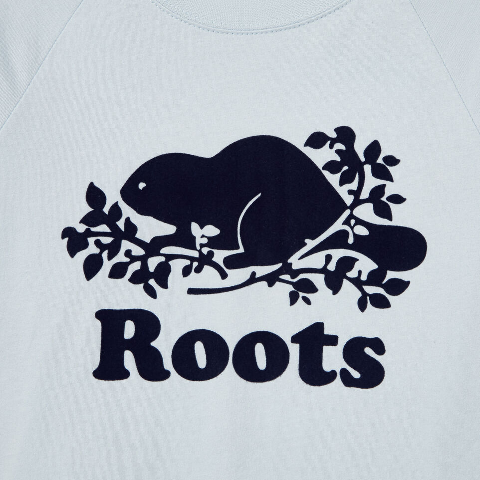 Roots-Kids New Arrivals-Boys Speedy Frank T-shirt-Baby Blue-D