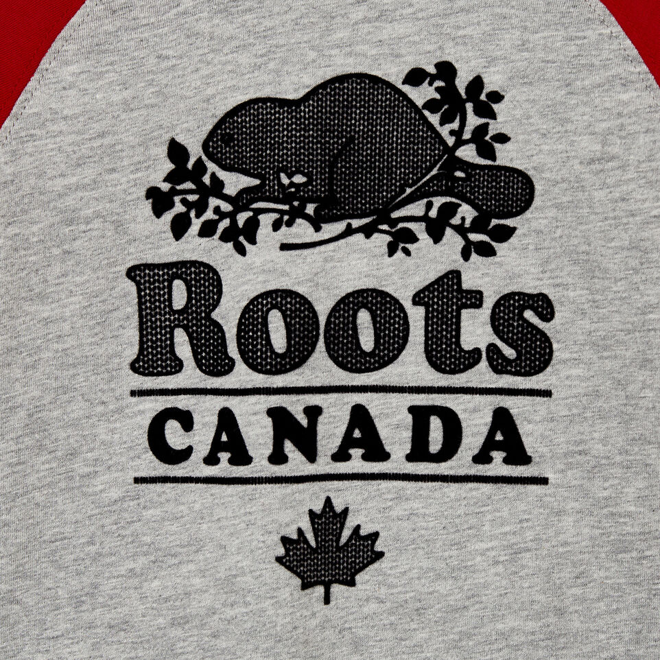 Roots-undefined-Baby Cabin Baseball T-shirt-undefined-C