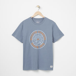 Roots-Sale Men-Mens Canada Rising T-shirt-Flint Stone-A