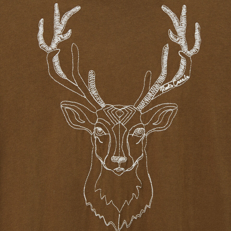 Roots-undefined-White Tail Deer T-shirt-undefined-C