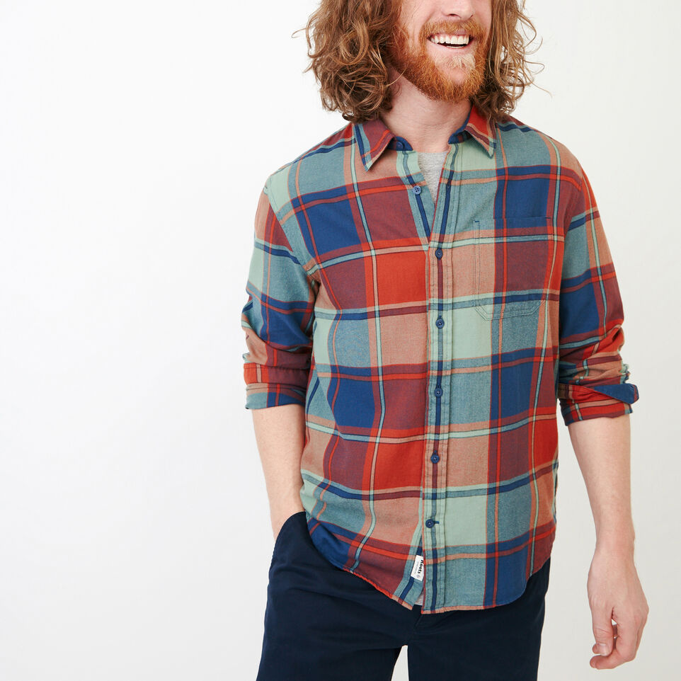 Roots-Men Our Favourite New Arrivals-Lakewood Plaid Shirt-undefined-A