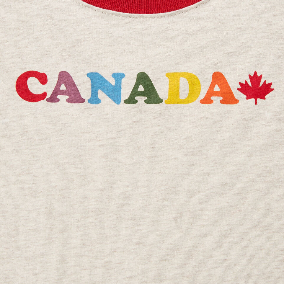 Roots-undefined-Filles T-shirt Collier Contrast Érable Canada-undefined-C