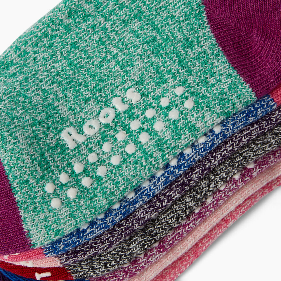 Roots-Kids Our Favourite New Arrivals-Toddler Days Sock 7 Pack-Pink Mix-C