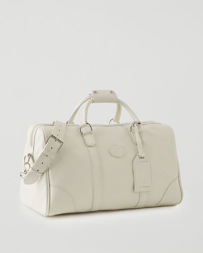 Roots-Leather Leather Bags-Small Banff Bag Cervino-Ivory-A