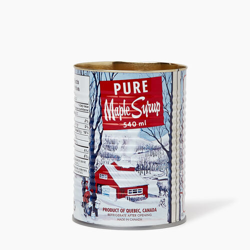 Roots-New For November General Store-Maple Syrup Candle-Lodge Red-A