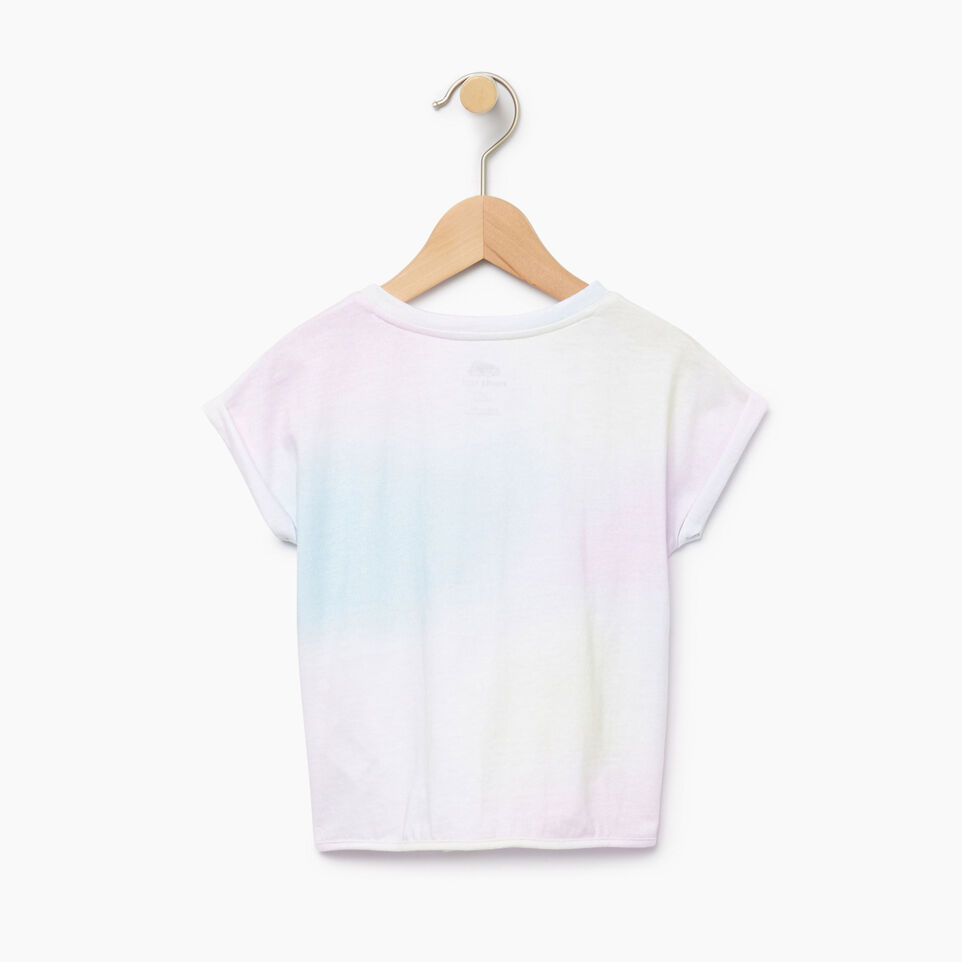 Roots-Kids Our Favourite New Arrivals-Toddler Watercolour Tie T-shirt-Ivory-B