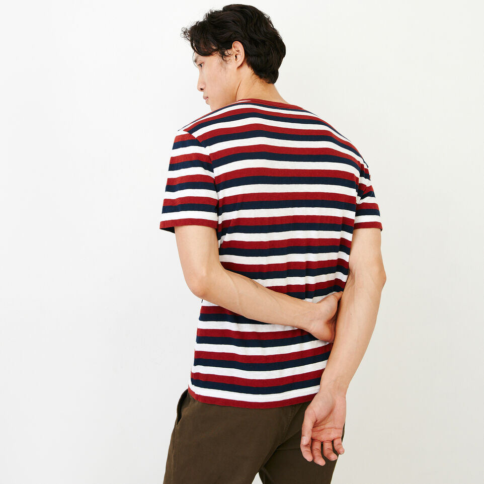 Roots-undefined-Horizon Stripe T-shirt-undefined-D
