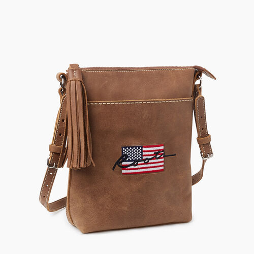Roots-New For November Script Collection - Additional 40% Off-Script USA Crossbody Tribe-Natural-A