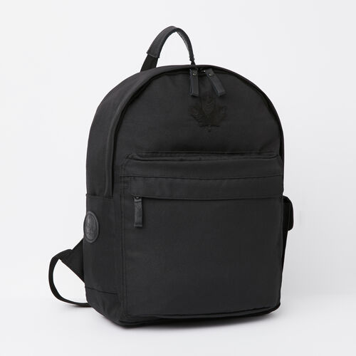 Roots-Women Backpacks-Go North Student Pack-Black-A